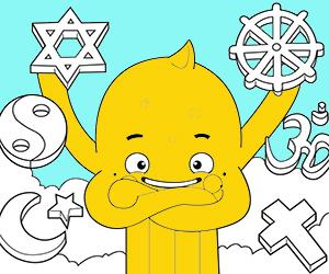Religion coloring pages