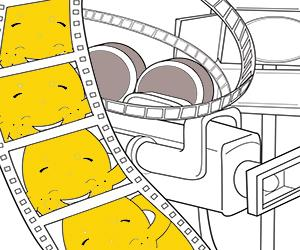 Movies coloring pages